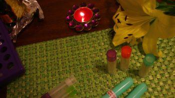 3) Aromatherapy Custom Blending